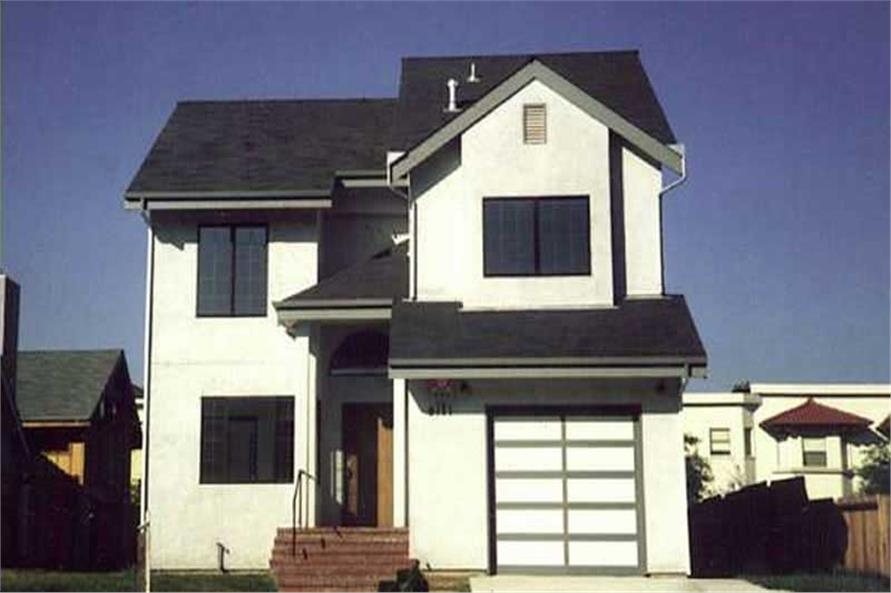 Color Photo taken of this house plan.