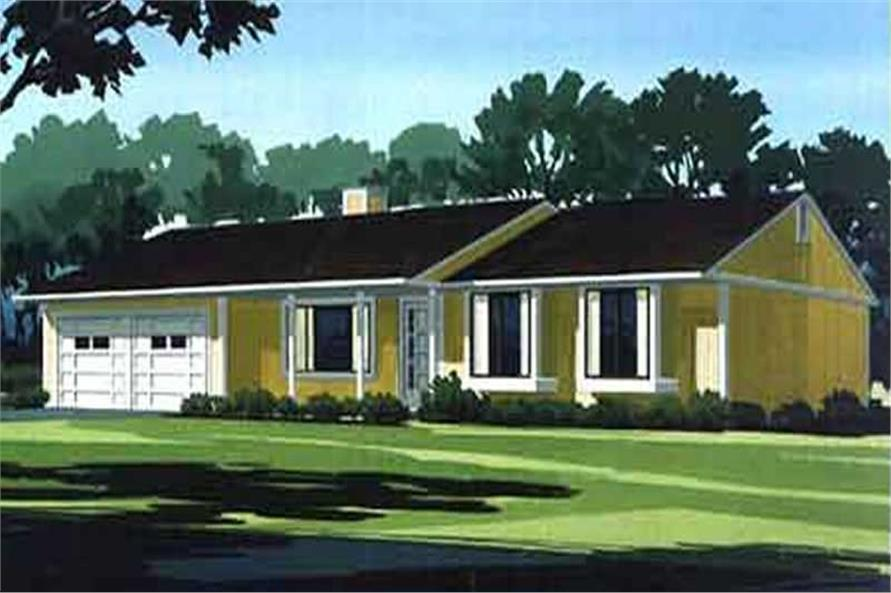 Color Rendering to this set of houseplans