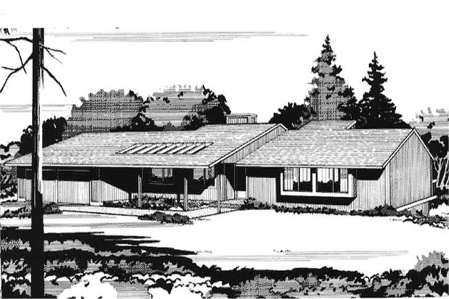 Front View house plans