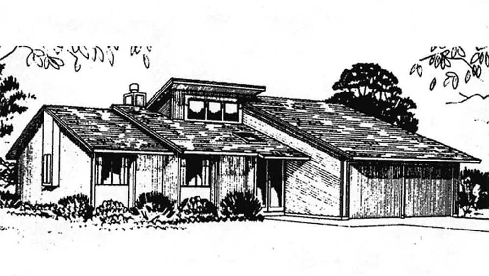 Front View from this house design