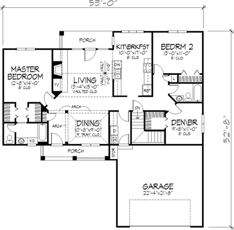 Home Plans With Attached Guest House
