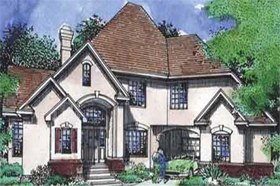 Main image for house plan # 21033