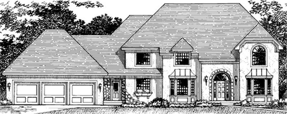 Main image for house plan # 21092