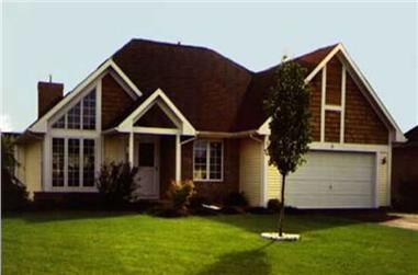 2-Bedroom, 1444 Sq Ft Country Home Plan - 146-1041 - Main Exterior
