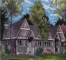 House Plan #146-1063