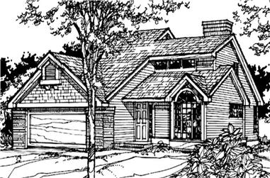 2-Bedroom, 1700 Sq Ft Contemporary Home Plan - 146-1066 - Main Exterior