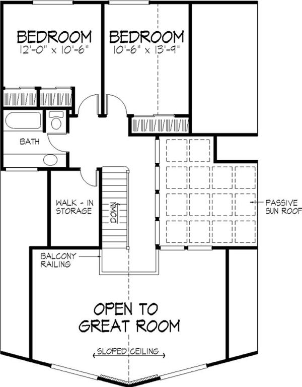 House Floor Plan Second Story