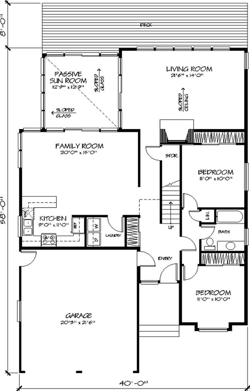 Vacation house plans home design ls h 949 1 for 1077 marinaside crescent floor plan