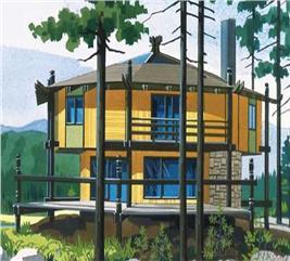 House Plan #146-1081