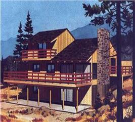 House Plan #146-1092
