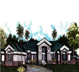 House Plan #146-1094