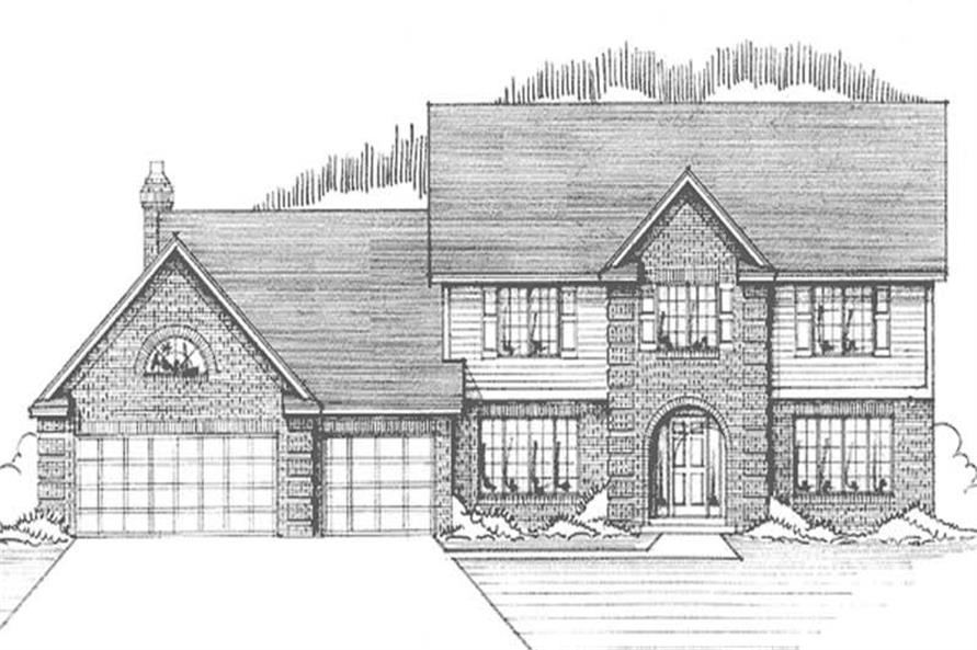 Main image for house plan # 21171