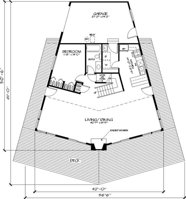 Pentagon House Floor Plans   Escortsea