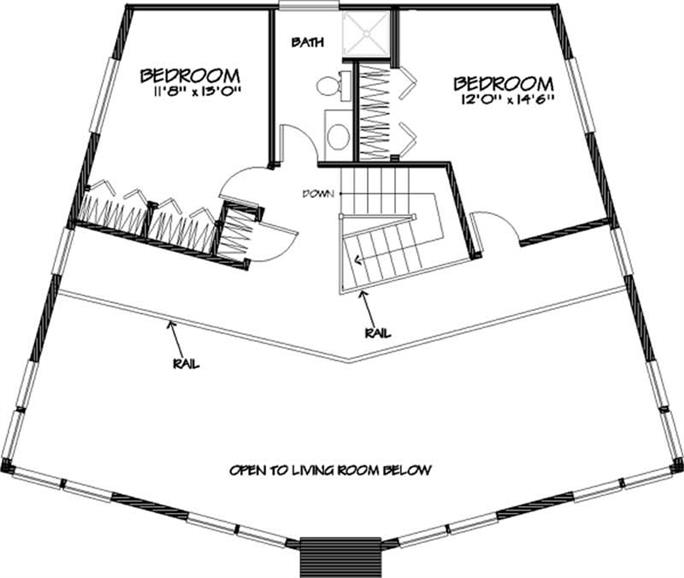 3 Bedrm, 2884 Sq Ft Vacation Homes House Plan #146-1100