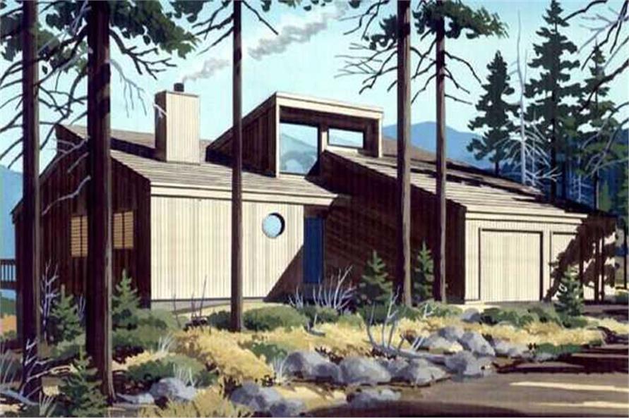 4-Bedroom, 3368 Sq Ft Ranch Home Plan - 146-1107 - Main Exterior