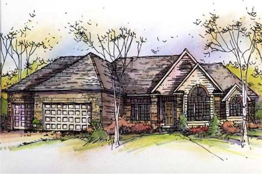 Main image for house plan # 21141