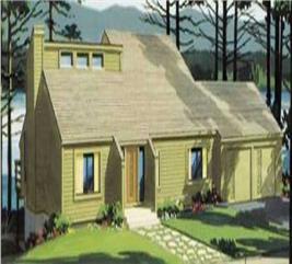 House Plan #146-1158