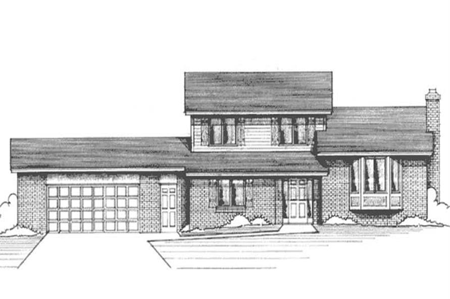 Main image for house plan # 21205