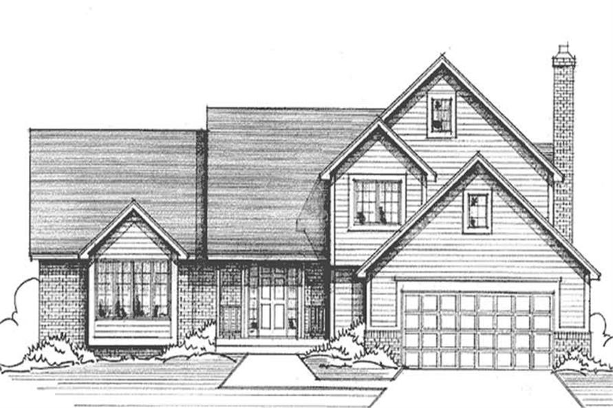 Main image for house plan # 21186