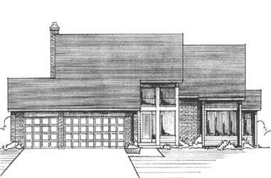 3-Bedroom, 2277 Sq Ft Craftsman House Plan - 146-1166 - Front Exterior