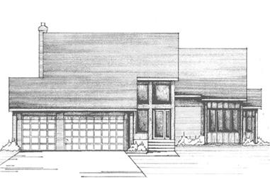 4-Bedroom, 2692 Sq Ft Colonial Home Plan - 146-1220 - Main Exterior