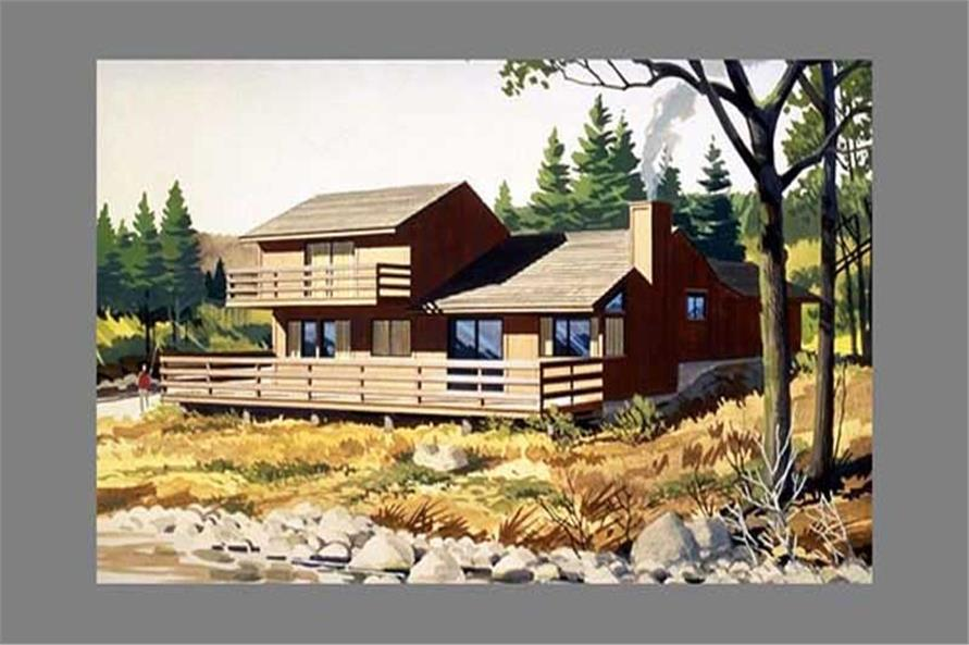 3-Bedroom, 2190 Sq Ft Cape Cod House Plan - 146-1231 - Front Exterior