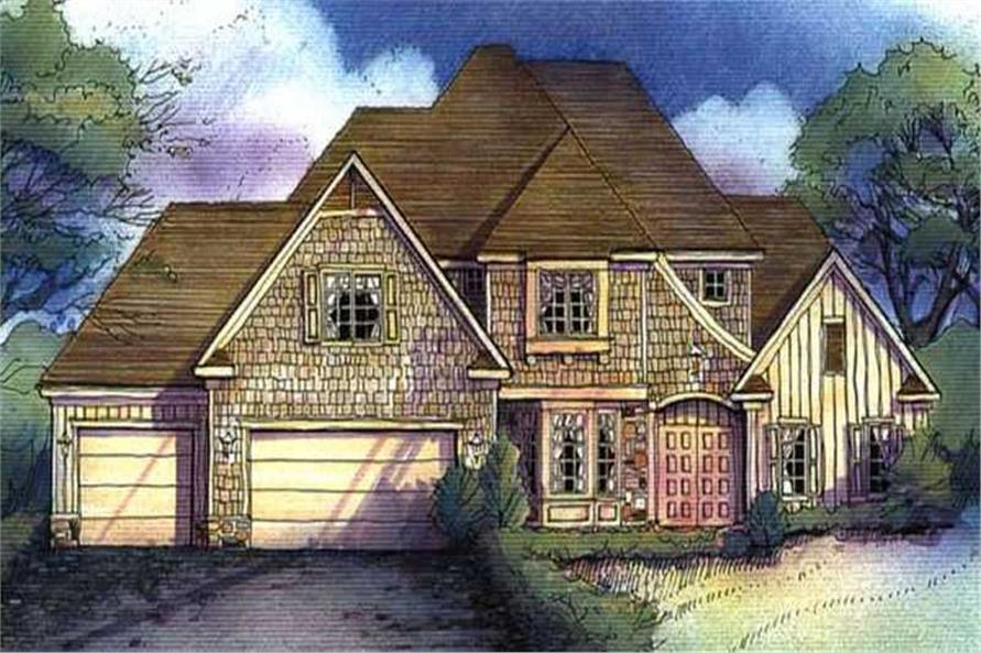 Main image for house plan # 21136