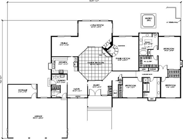 House Floor Plan First Story
