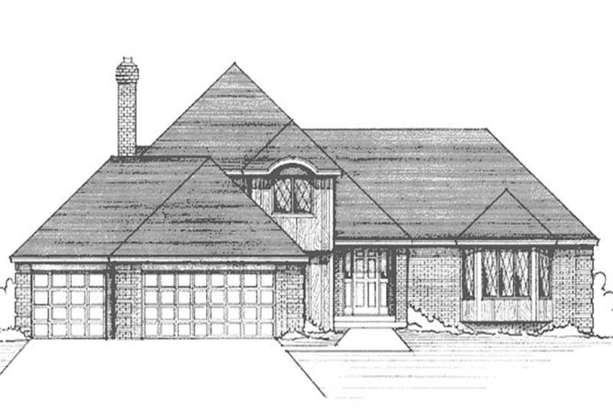 Main image for house plan # 21207