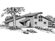 Front View to this house plan