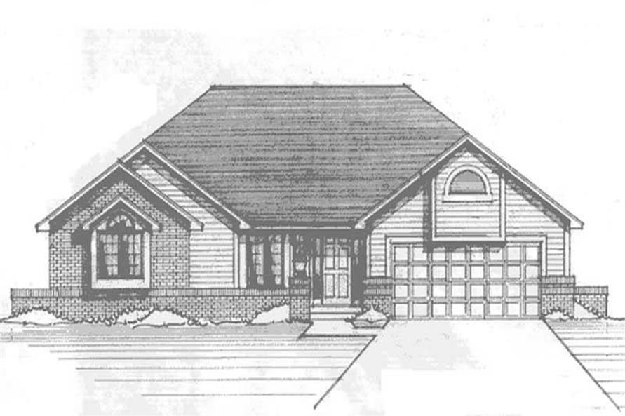Main image for house plan # 21209