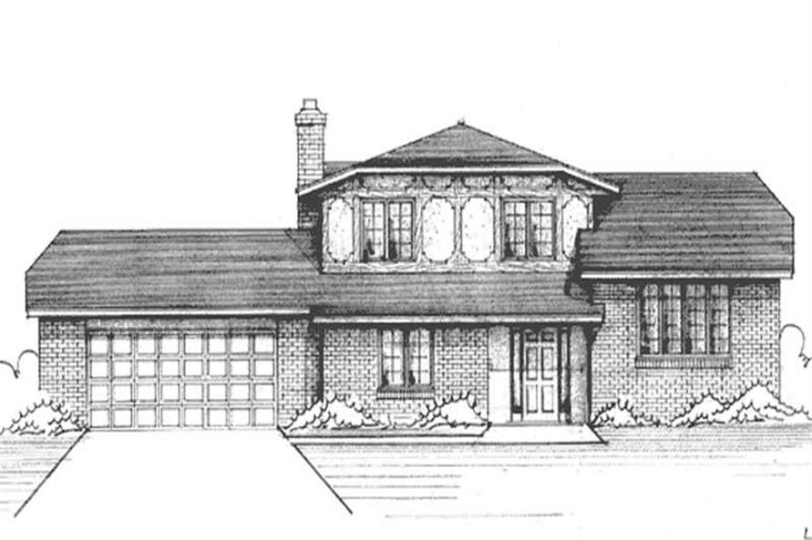 Main image for house plan # 21234