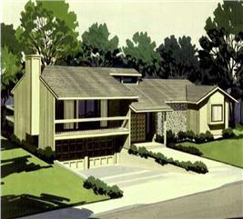 House Plan #146-1305