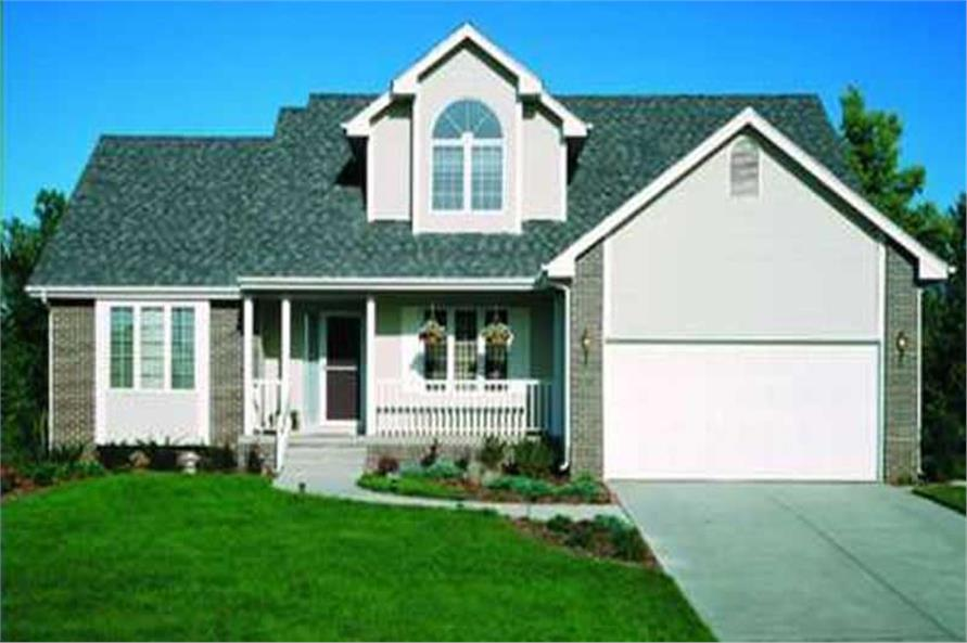 This image is a photo of the front elevation of Country Home Plans LS-B-89061.