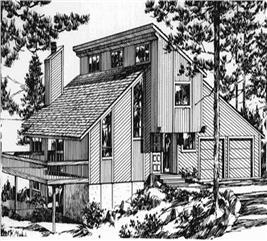House Plan #146-1419