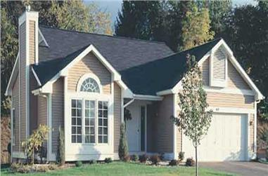 2-Bedroom, 1252 Sq Ft Country House Plan - 146-1437 - Front Exterior