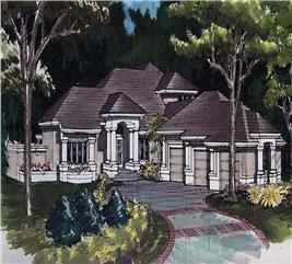 House Plan #146-1451