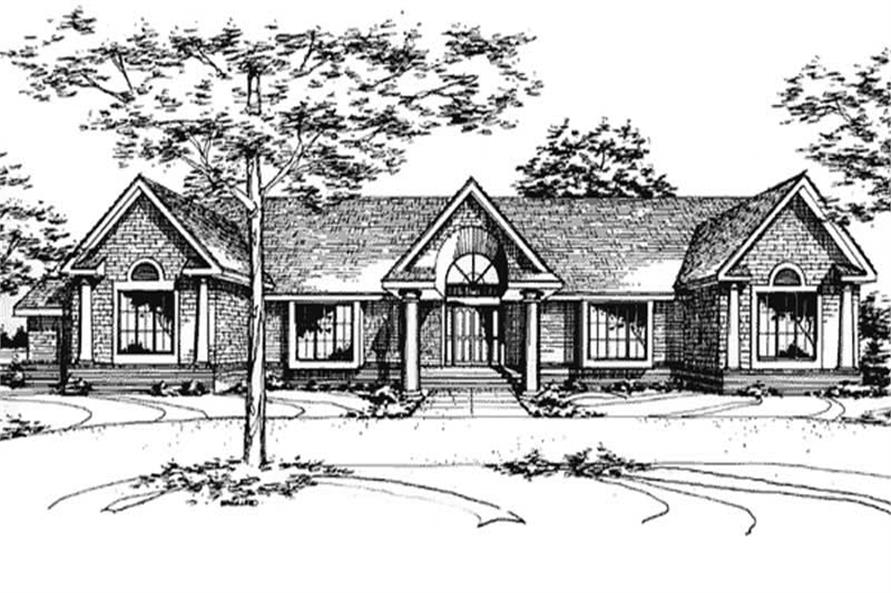 This image shows the Specialty/Ranch Style of this house plan.