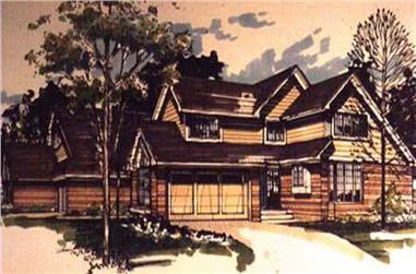1-Bedroom, 2330 Sq Ft Multi-Unit Home Plan - 146-1491 - Main Exterior