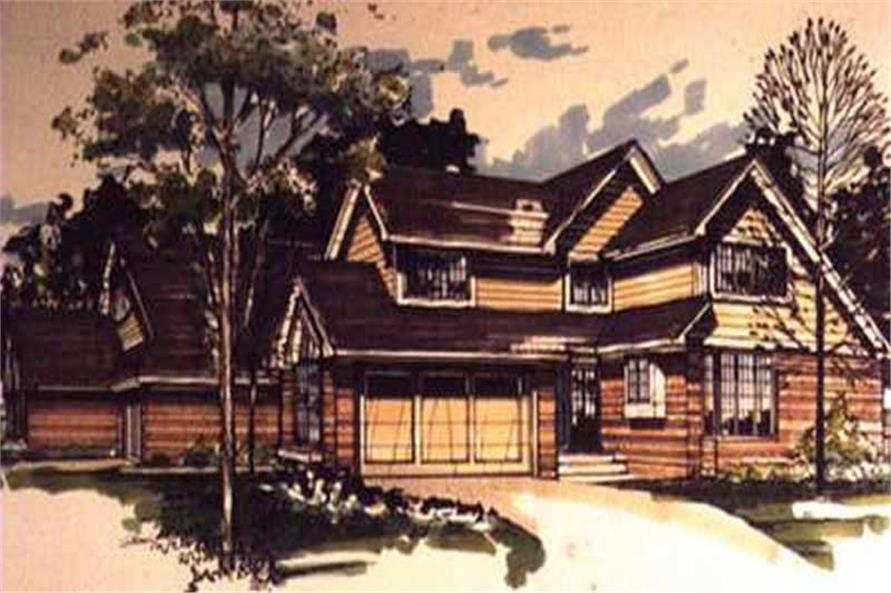 This image shows the Multi-Unit Style of this set of house plans.
