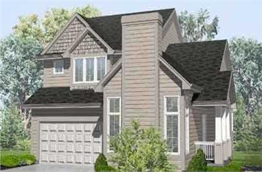 3-Bedroom, 1898 Sq Ft Country House Plan - 146-1527 - Front Exterior
