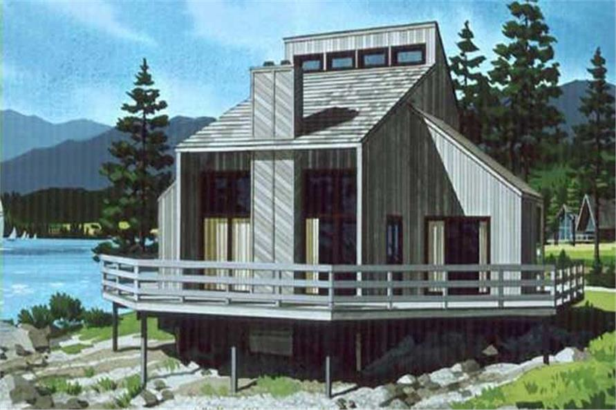 Color Rendering from house design LS-H-8056-A