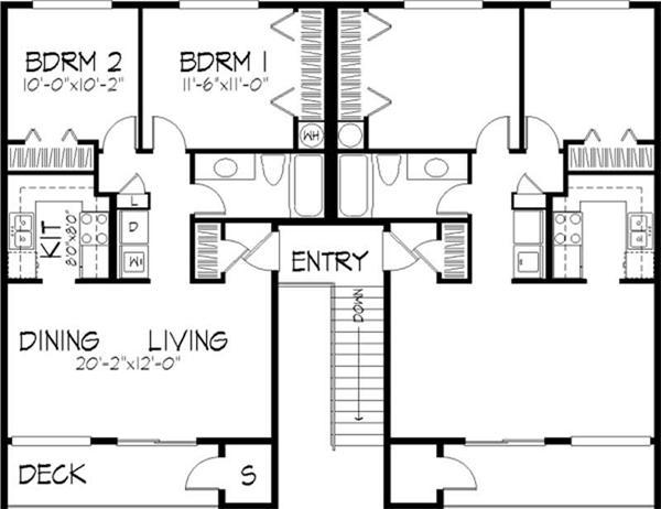 Home Plans Multi Unit House Design Ideas