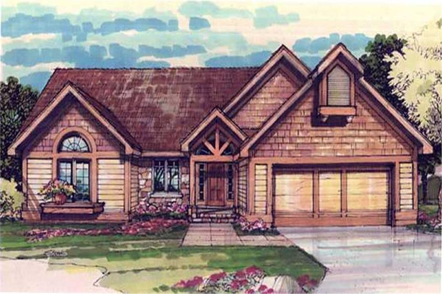 2-Bedroom, 1709 Sq Ft Craftsman House Plan - 146-1652 - Front Exterior