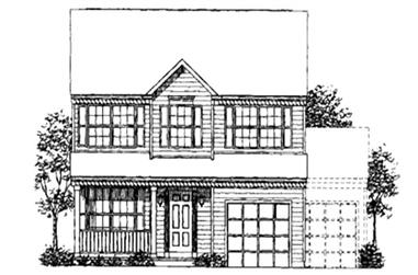 Main image for house plan # 21021