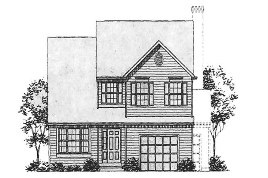 Main image for house plan # 21022