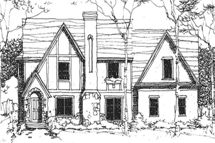 Main image for house plan # 21135
