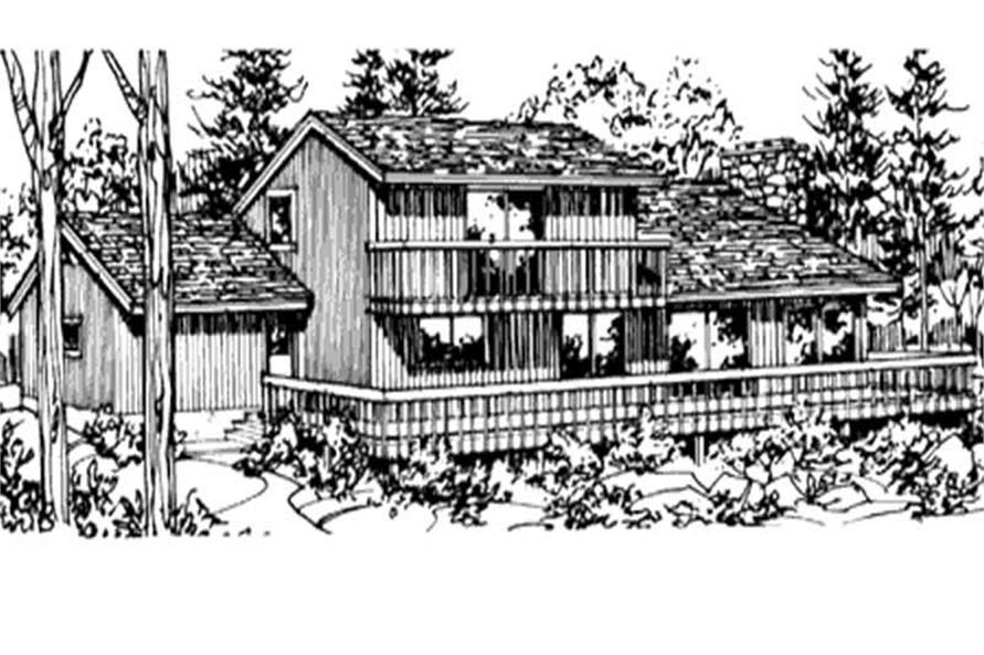 View of this house plan.