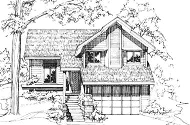 2-Bedroom, 1496 Sq Ft Cape Cod House Plan - 146-1777 - Front Exterior