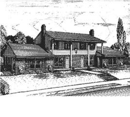 House Plan #146-1801
